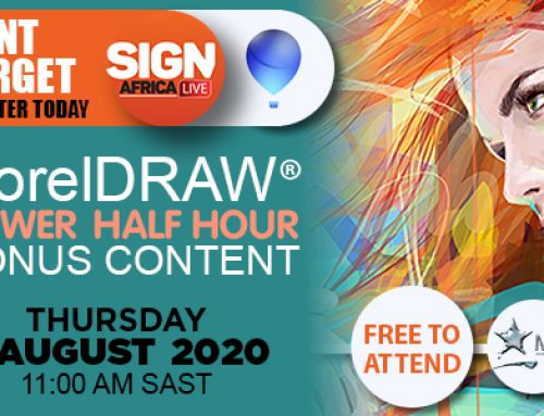 Sign Africa Presenting Free CorelDRAW Power Half Hour This Week