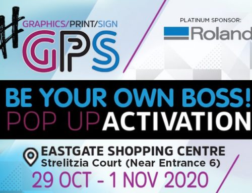 The Graphics Print Sign Pop-Up Activation Kicks Off This Week