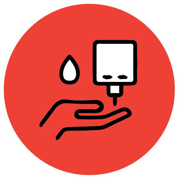 Hand Sanitising