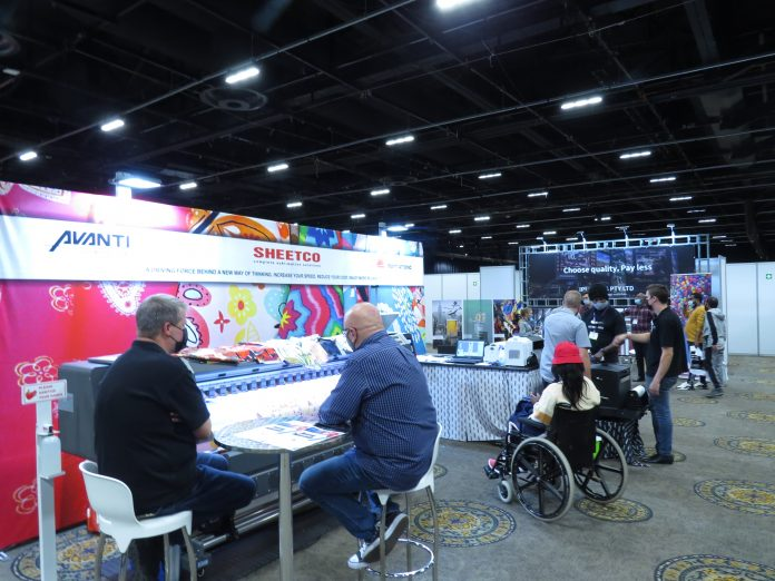 Sheetco Displays Sublimation And Direct To Film Solutions At Sign Africa Gauteng Expo