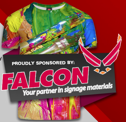 Enter The Falcon T-Shirt Design Competition To Win A Heat Press And Vouchers