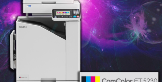 Riso Officially Launch The ComColor FT Series At Graphics, Print & Sign Live Demo Expo